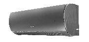 Тепловой насос Gree Lyra Inverter R32 GWH12ACC-K6DNA1F (черный)