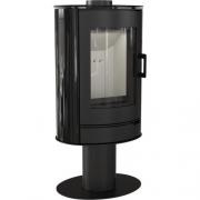 Свободностоящая печь-камин Kratki Koza AB S/N Kafel (черный)