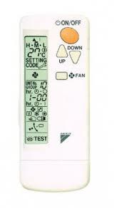 Daikin BRC7EB518 (инфракрасный пульт управления)