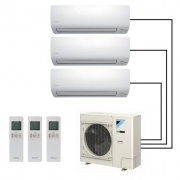 Мульти-сплит система DAIKIN FTXS20K/FTXS20K/FTXS35K/3MXS52E