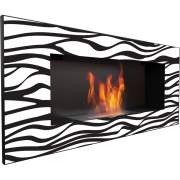 Биокамин Kratki Delta Zebra (черный)