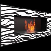 Биокамин Kratki Delta Zebra (черный, с сертификатом TUV)