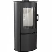 Свободностоящая печь-камин Kratki Koza AB S/DR Kafel (черный)