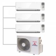 Мульти-сплит система Mitsubishi Heavy Industries SRK20ZSP-S/SRK20ZSP-S/SRK35ZSP-S/SCM50ZS-S