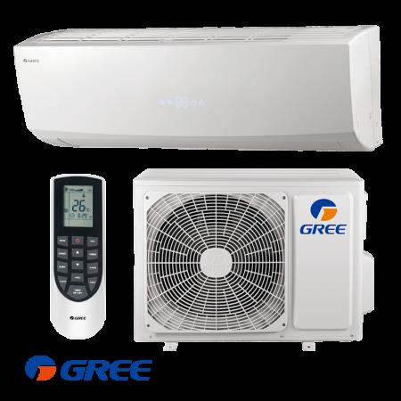 Тепловой насос Gree Lomo Luxury Inverter R32 GWH12QC-K6DNB2C (Wi-Fi)